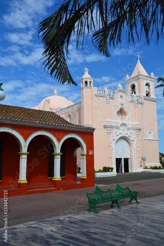 Tuinposter Mexico Tlacotalpan Veracruz Mexique - Tlacotalpan Village Veracruz Mexico