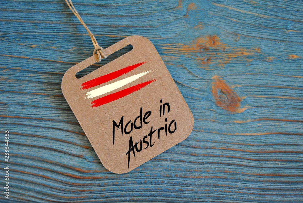 Fototapeta Made in Austria
