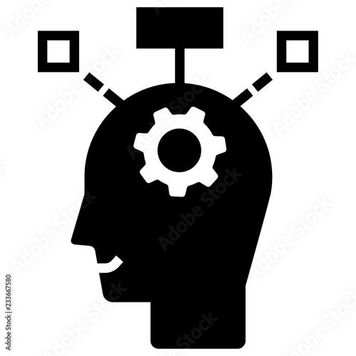 Fotografía  Critical thinking Solid illustration