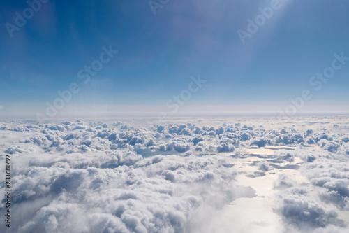 雲の上から Canvas Print