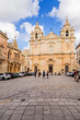Mdina, Malta. St. Paul's Cathedral, 1702