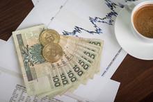 Monety Bitcoin I Złotówki