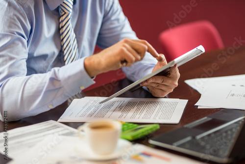 Fototapeta zatwierdzenie umowy biznesowej obraz