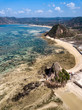 Indonesia, Aerial view of Lombok, coast