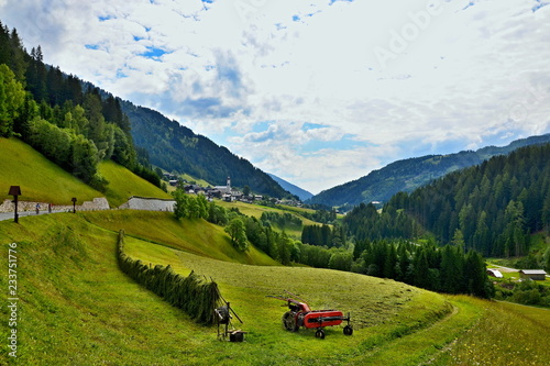 Austrian Alps-view on the Maria Luggau