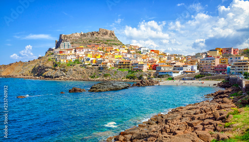 Photo  Castelsardo town and comune in Sardinia, Province of Sassari, Italy