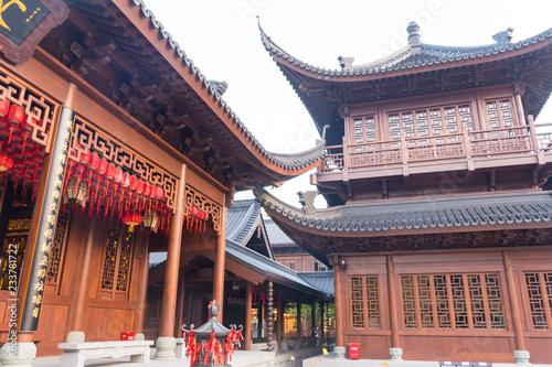 Foto op Plexiglas Bedehuis Jade Buddha temple in Shanghai