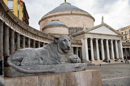 Valokuvatapetti Piazza Plebiscito, Napoli, Naples