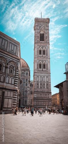 Fotografía Famous tower in Florence Campanile di Giotto