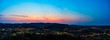 Panoramic Cerro San Luis Sunrise