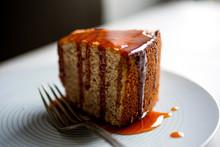 Close Up Of Pecan Coffee Cake ...