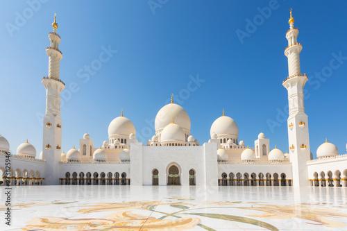Sheikh Zayed Mosque - Abu Dhabi, United Arab Emirates Poster Mural XXL