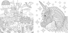 Coloring Pages With Fairytale ...
