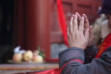 Praying Hands In Beijing