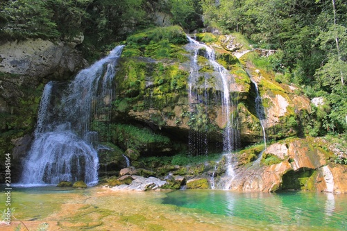 Photo Virje waterfall, Julian Alps, Slovenia