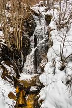 Waterfall In Van Sickle Bi-State Park, South Lake Tahoe, Nevada