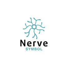 Nerve Logo Icon Vector