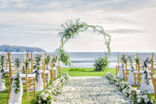 Romantic Wedding Ceremony On T...