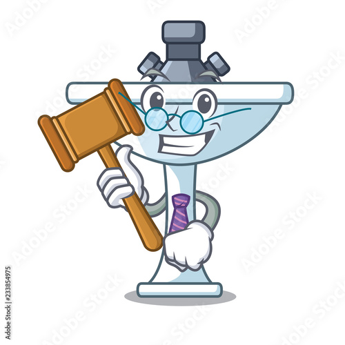 Fotografia, Obraz  Judge bathroom ceramic sink on mascot isolated