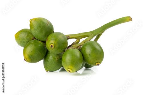 Photo Fresh Areca nut palm or Betel nut palm (Areca catechu Linn