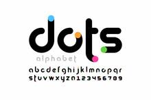 Modern Font Design, Trendy Alp...