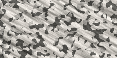 Photo  Black & White Army Camouflage Background