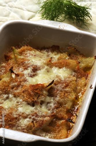 Finocchi al forno Fëllel Gebackene Fenchel Baked fennels ft81026009 Gebakken fennel