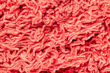 An Overhead Photo Of Minced Meat Texture