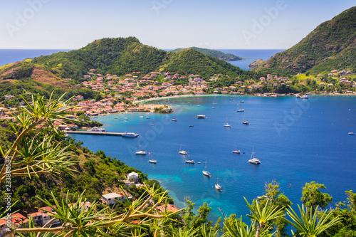 Terre-de-Haut Island, Les Saintes, Guadeloupe archipelago Canvas Print