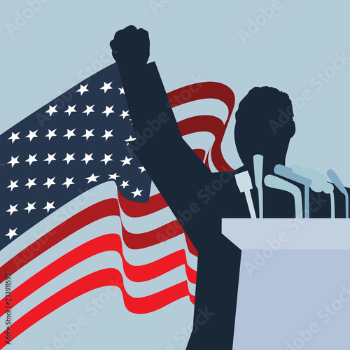 Photo  A vector silhouette illustration of Dr