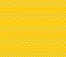 Seamless Yellow Polka Dots Bac...