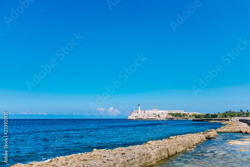 Morro Castle fortress in Havana bay, Cuba