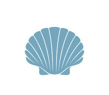 Scallop Logo.  Isolated Scallo...