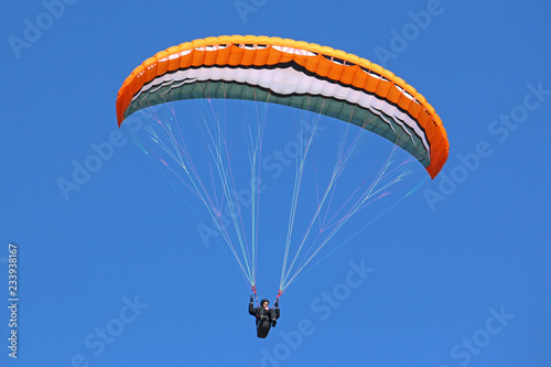 Paraglider flying wing