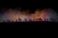 American Civil War Concept. Mi...