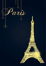 French Perfume Card.