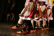 Young Serbian Dancers In Tradi...