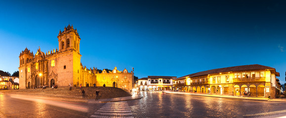 Cuzco, Peru: Panoramic view...