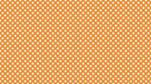 Polka Dot Pattern Background In Yellow And Orange, Classic Retro Wallpaper Design
