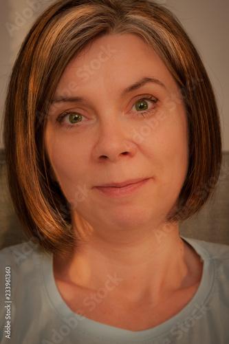 Obraz Portret kobiety - fototapety do salonu