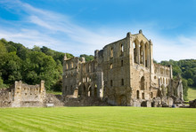 Ruined Abbey Near Rievaulx, Yo...