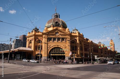 Poster Oceanië Flinders Street Station