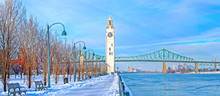 Montreal In Winter, Canada