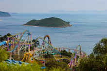 Ocean Park, Amusement Theme Pa...
