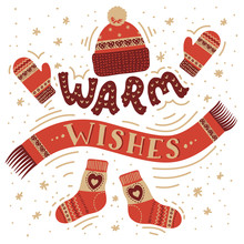 Warm Wishes. Warm Winter Accessories.