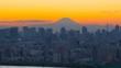 4K · Tokyo landscape · Time lapse · Mt. Fuji and big city