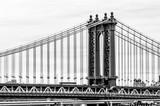 Manhattan Bridge w Nowym Jorku, USA - 233991164