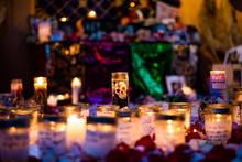 Cultural Candles At Night
