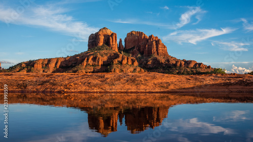 Acrylic Prints cathedral reflection
