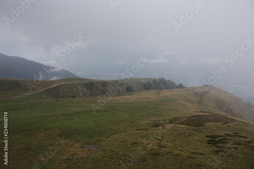 Tuinposter Donkergrijs Switzerland Monte Tamaro